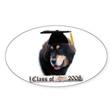 Tibetan Grad 08 Oval Decal