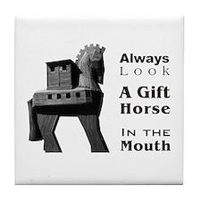 Trojan Horse Tile Coaster