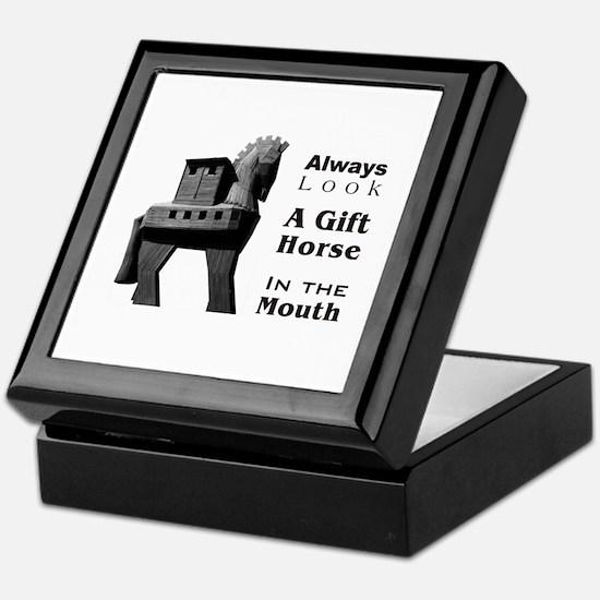 Trojan Horse Keepsake Box