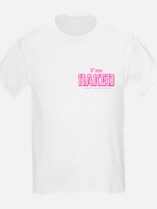 Nakead baby (pink) T-Shirt