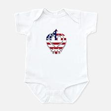 American Khanda Infant Bodysuit