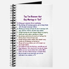 Gay Marriage 10 Journal