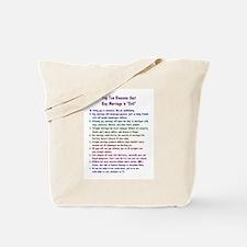 Gay Marriage 10 Tote Bag