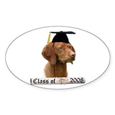 Vizsla Grad 08 Oval Decal