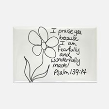 Cute Fearfully and wonderfully made Rectangle Magnet