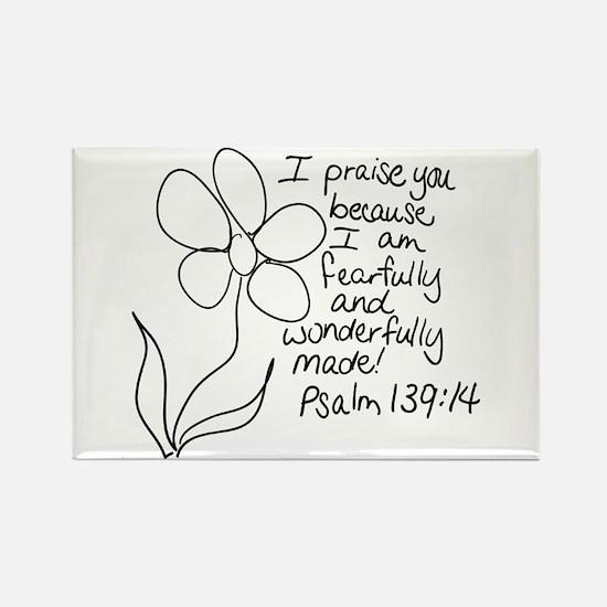 Unique Religion Rectangle Magnet (100 pack)