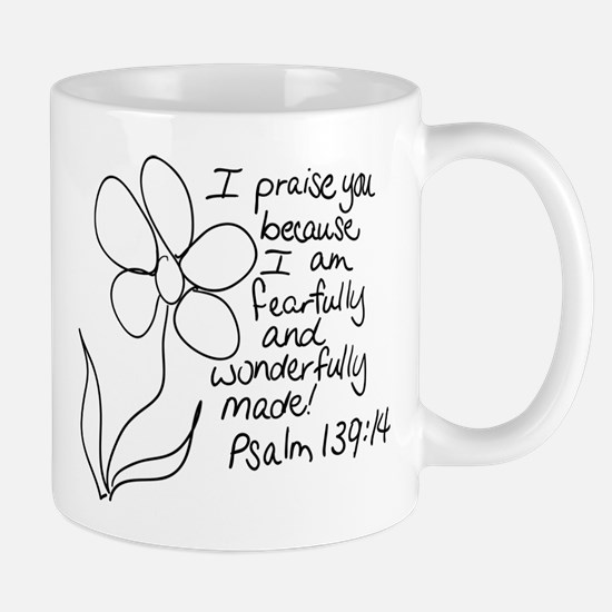 Fearfully and Wonderfully Made Mugs