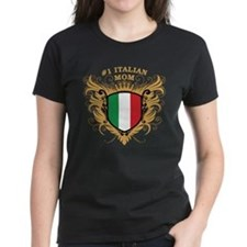 Number One Italian Mom Tee