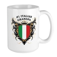 Number One Italian Grandpa Mug