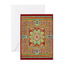 Carpet Page Greeting Card