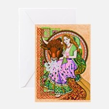 Queen Maeve Greeting Card