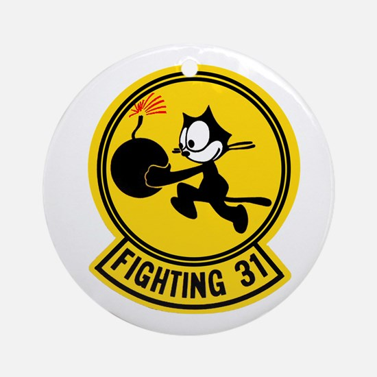 VF 31 / VFA 31 Tomcatters Ornament (Round)