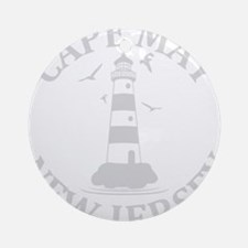 Summer cape may- new jersey Round Ornament