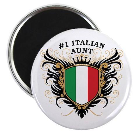 Number One Italian Aunt Magnet