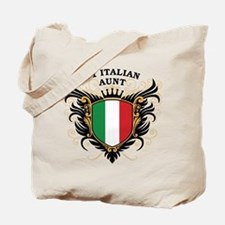 Number One Italian Aunt Tote Bag