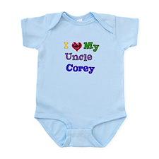I LOVE MY UNCLE COREY Infant Bodysuit