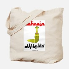 Bahrain Oilfields Tote Bag