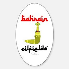 Bahrain Oilfields Oval Decal