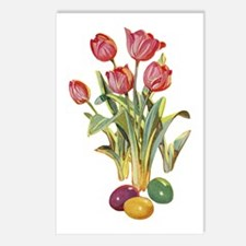 EASTER TULIPS Postcards (Package of 8)
