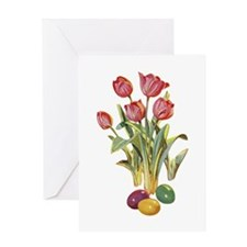 EASTER TULIPS Greeting Card