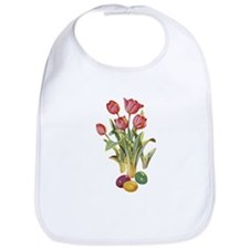 EASTER TULIPS Bib