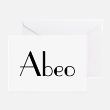 """Abeo! """"I'm Outta Here!"""" Greeting Cards (Package of"""