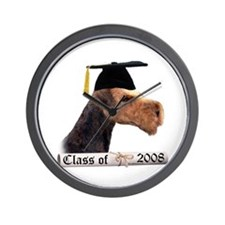 Airedale Grad 08 Wall Clock