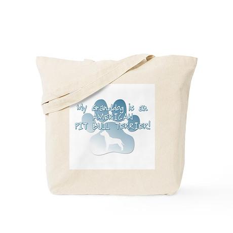 Pit Bull Granddog Tote Bag