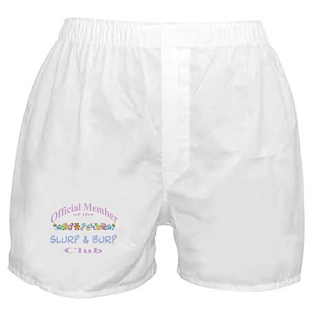 Slurp and burp Boxer Shorts