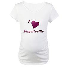 I Love Fayetteville #20 Shirt