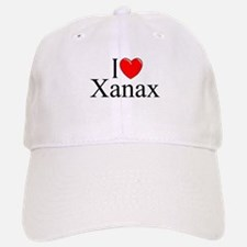 """I Love (Heart) Xanax"" Baseball Baseball Cap"