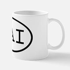 LAI Oval Mug