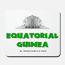 Equatorial Guinea Oilfields Mousepad