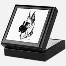 Fawn Cropped Dane Keepsake Box