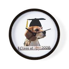 Beagle Grad 08 Wall Clock