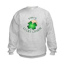 Paw's Lucky Charm Sweatshirt