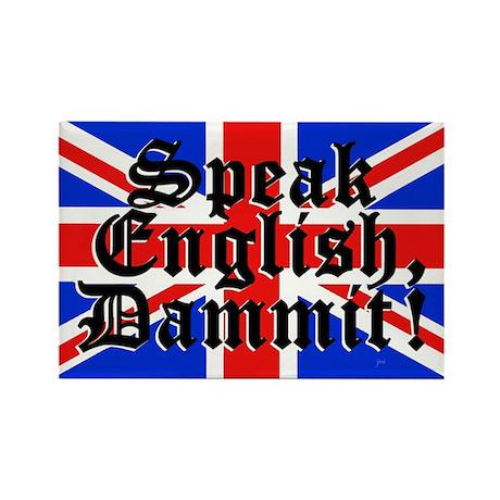 Speak-EnglishT SHIRT Magnets