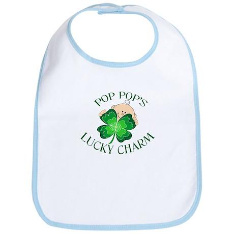 PopPop's Lucky Charm Bib
