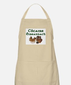 'Irish Chef' in Gaelic Chef's Apron