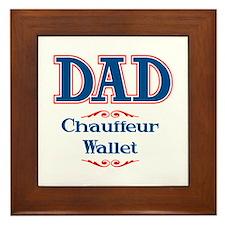 DAD Chauffeur Wallet Framed Tile