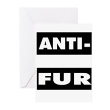 Anti-Fur Greeting Cards (Pk of 10)