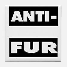 Anti-Fur Tile Coaster