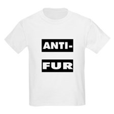 Anti-Fur Kids T-Shirt