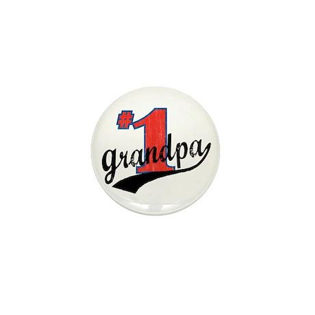 #1 Grandpa Mini Button (10 pack)