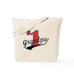 #1 Grandpa Tote Bag