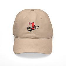 #1 Grandpa Baseball Cap