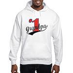 #1 Grandpa Hooded Sweatshirt