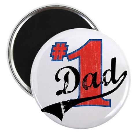 """#1 Dad 2.25"""" Magnet (100 pack)"""