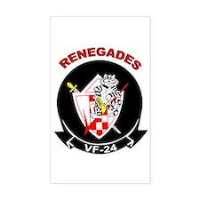 VF 24 Renegades Rectangle Decal