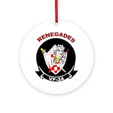 VF 24 Renegades Ornament (Round)